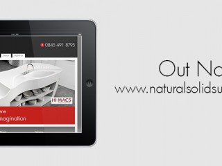 Natural Solid Surfaces - New Website For Worktop manufacturers