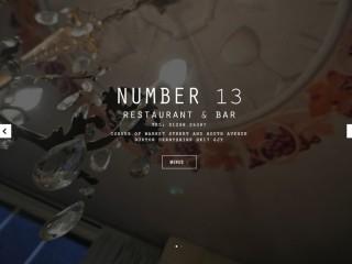 Number 13 Restaurant & Bar