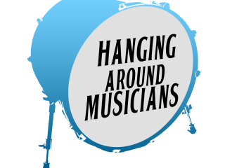 Hanging Around Musicians Logo Website