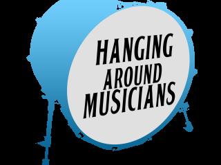 Hanging Around Musicians Logo Website